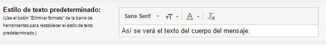 Estilo-texto-Predeterminado-Gmail