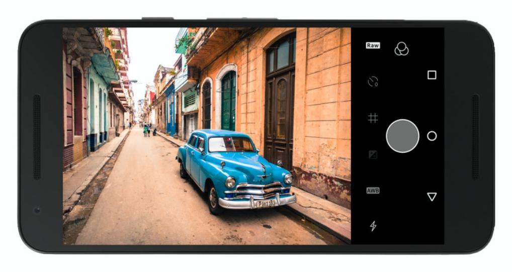 Adobe Lightroom le permite tomar fotografías en RAW para Android