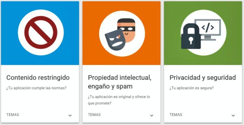 Google rediseña su política de desarrolladores