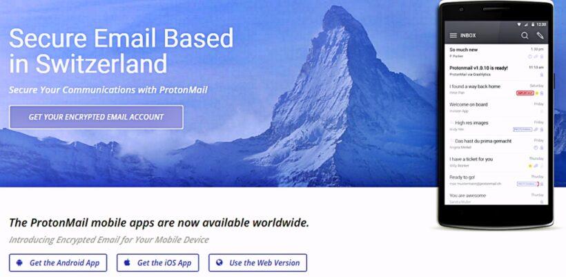 ProtonMail pone en marcha para todo el mundo un servicio de email cifrado