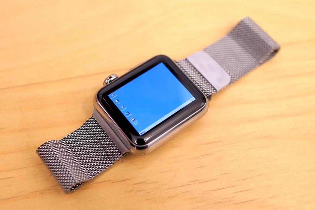 Desarrollador ejecuta Windows 95 en Apple Watch