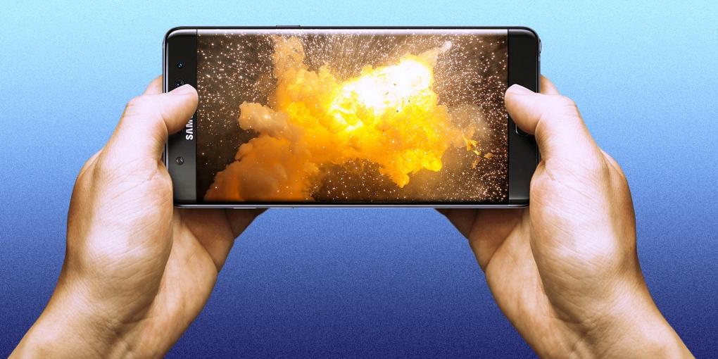 Prohíben el uso del Galaxy Note 7 en vuelos