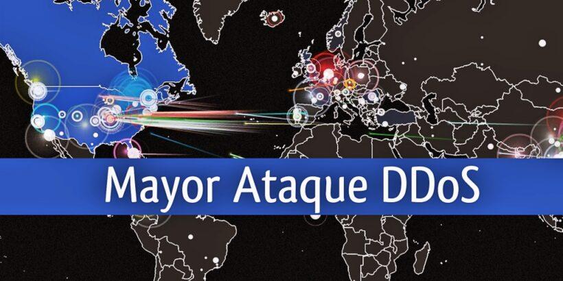 Mayor ataque de DDoS