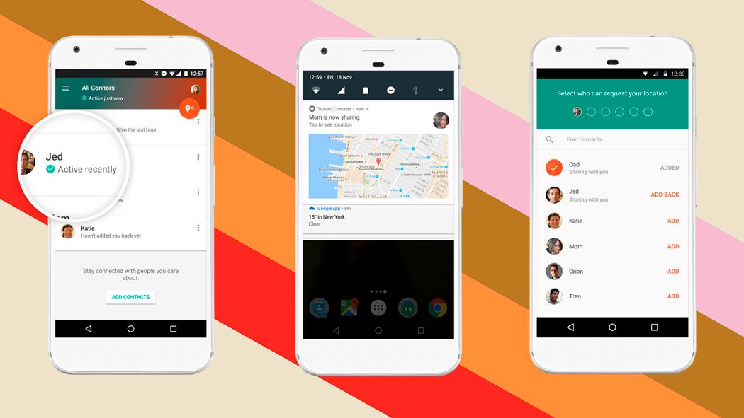 Google lanza una app para compartir ubicación con contactos
