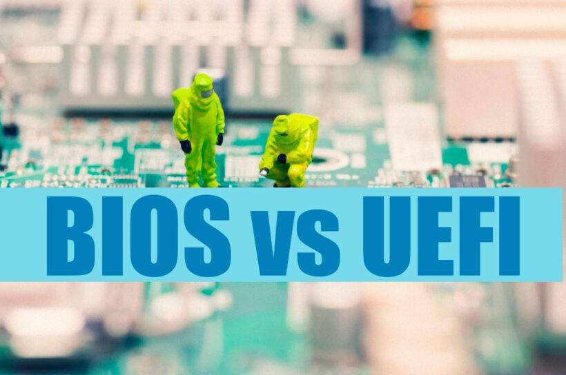 Cual es la diferencia entre BIOS y UEFI