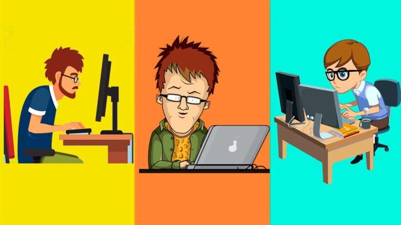 Diferencia entre Codificador, Programador, Desarrollador