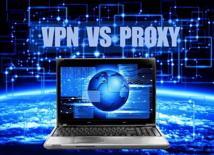 diferencia entre una VPN y un proxy