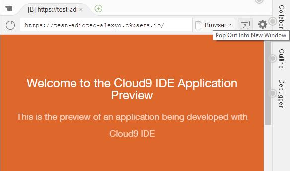 WordPress en Cloud9