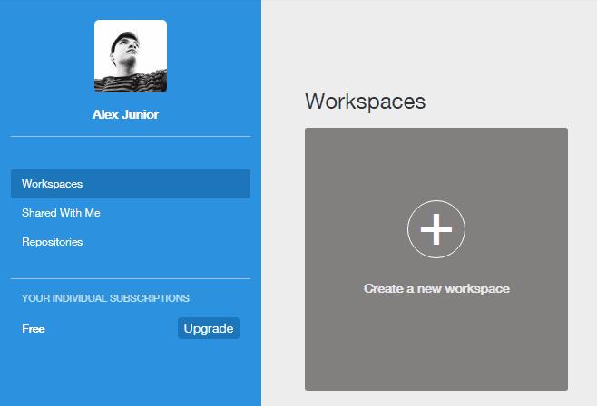 Workspaces en Cloud9