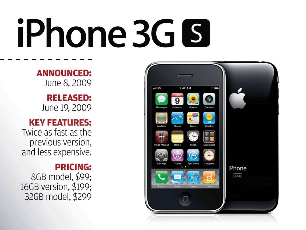 Anuncio del iPhone 3GS