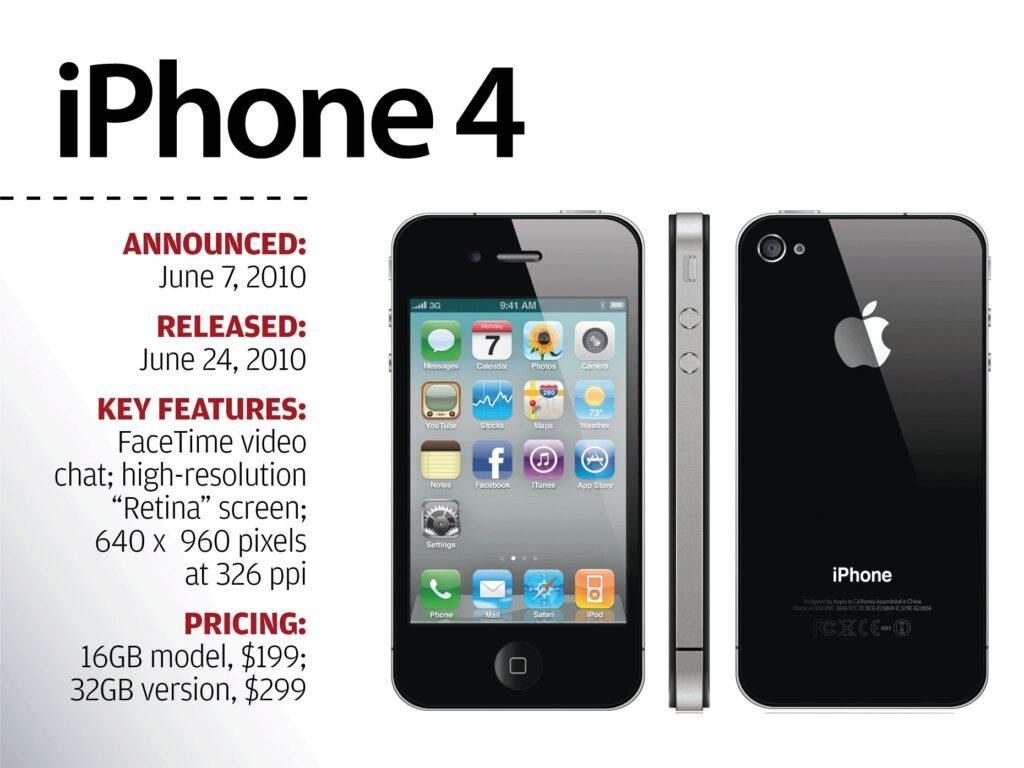 Anuncio del iPhone 4