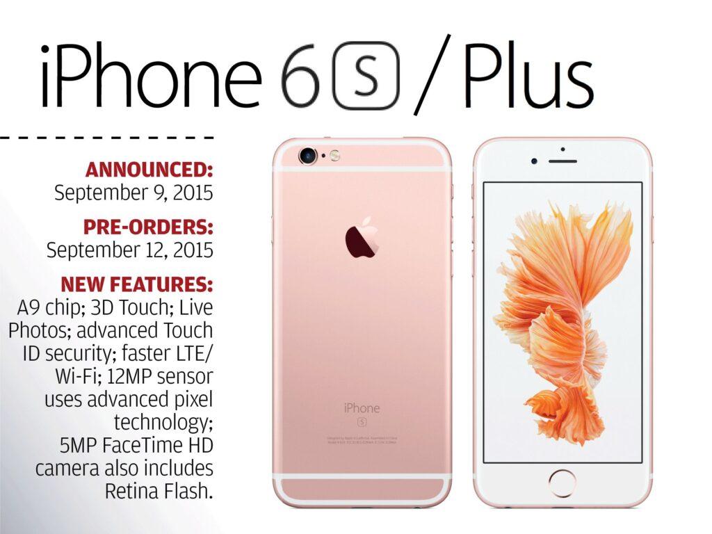Anuncio del iPhone 6S y 6S Plus