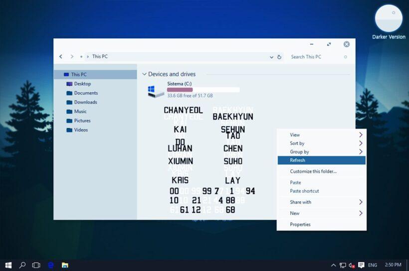 Como cambiar la fuente predeterminada en Windows 10