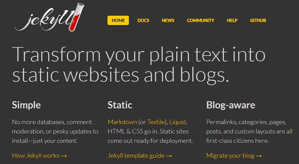 Sitio Web Estático con Jekyll