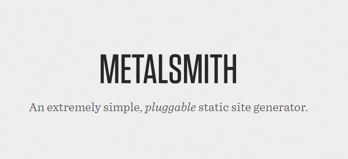 Sitio Web Estático con Metalsmith