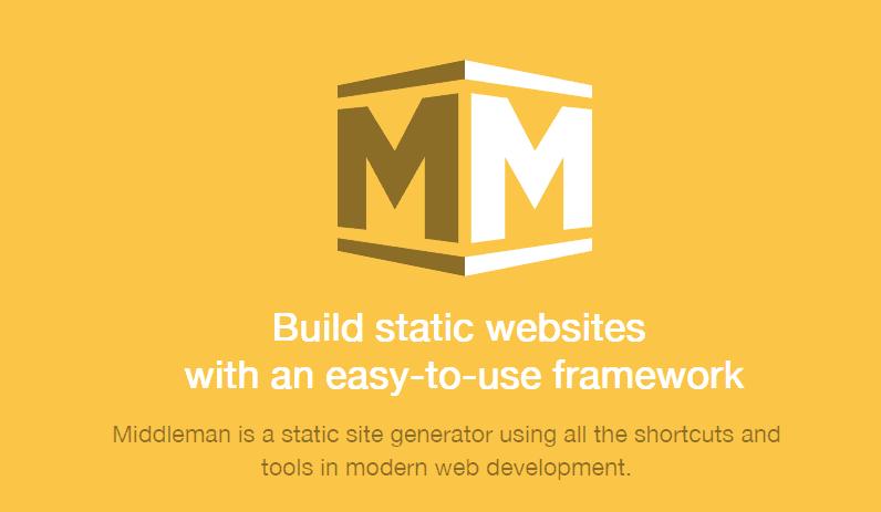 Sitio Web Estático con Middleman