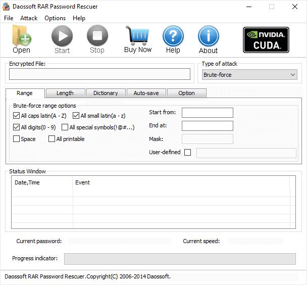 Daossoft RAR Password Recovery