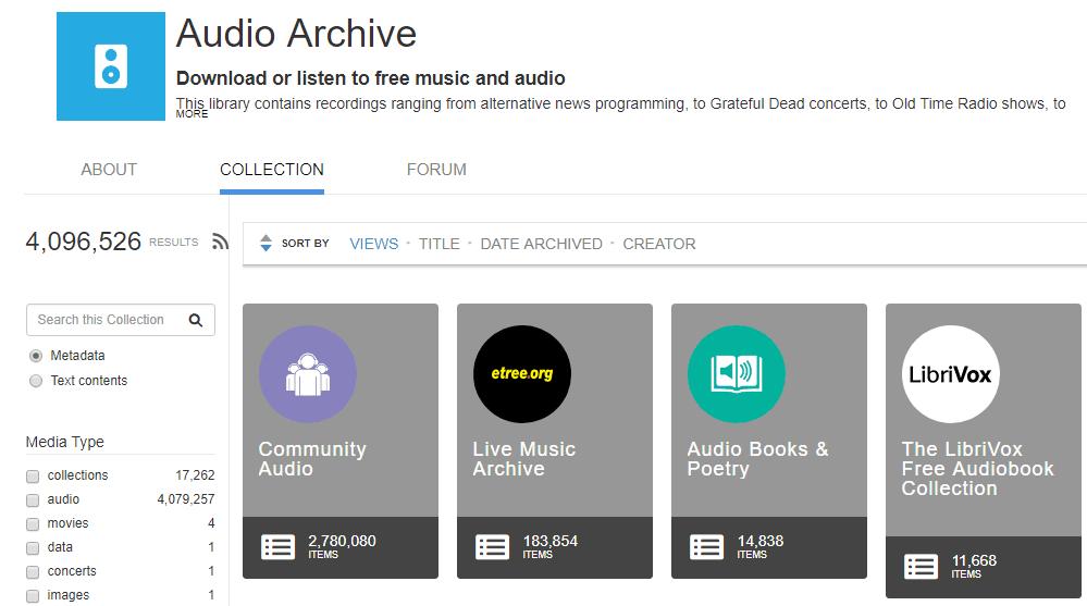 The Audio Archive Música Gratis Legal
