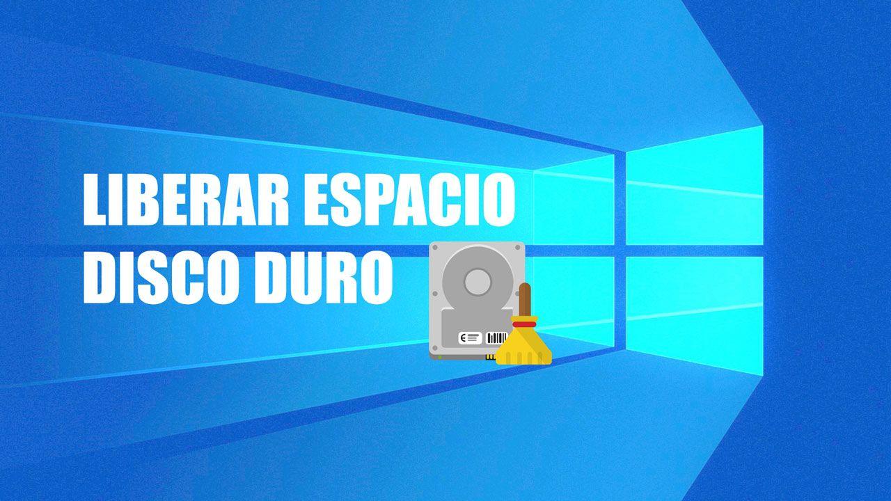 Cómo limpiar tu disco duro y liberar espacio en tu PC