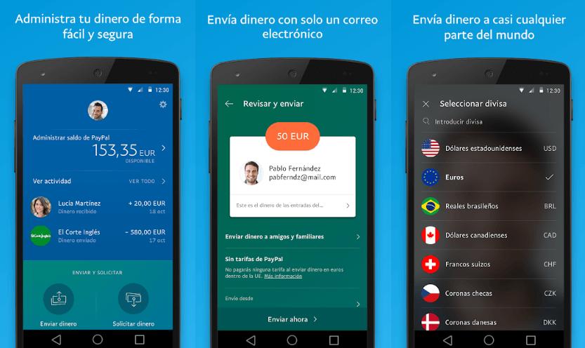 Cómo funciona la aplicación de Paypal
