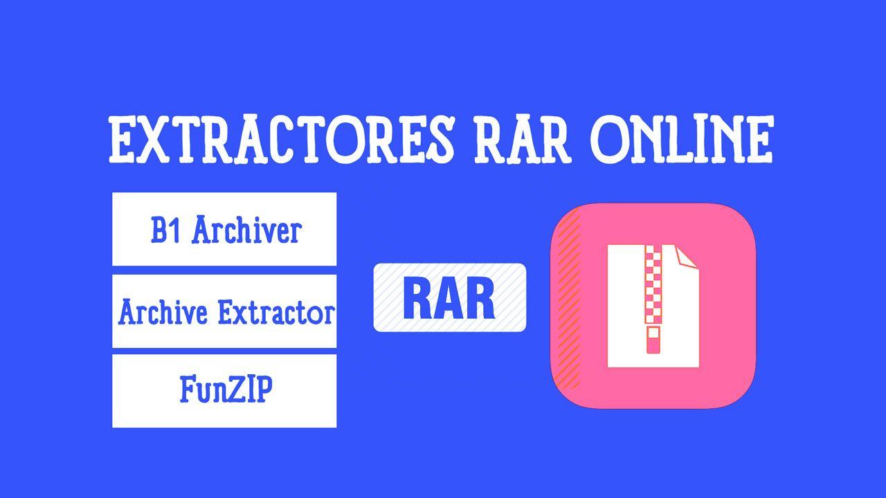 ▷ Los 5 mejores extractores de RAR online ✅   Adictec