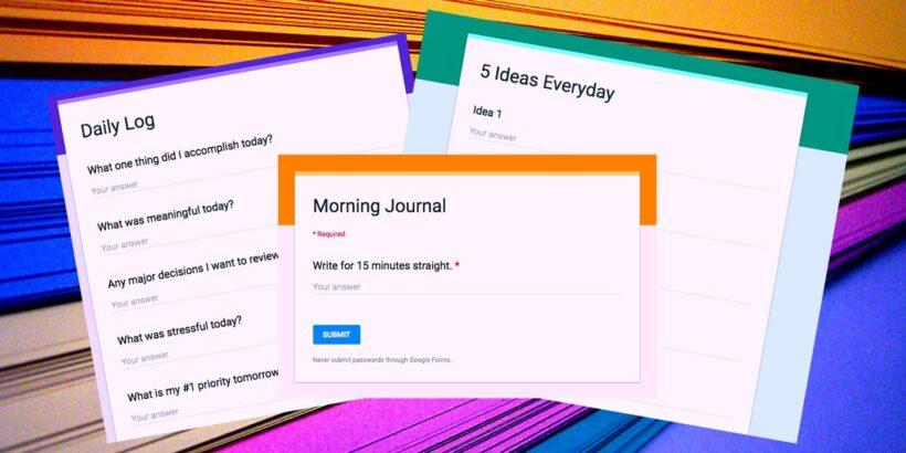 Cómo crear un formulario en Google