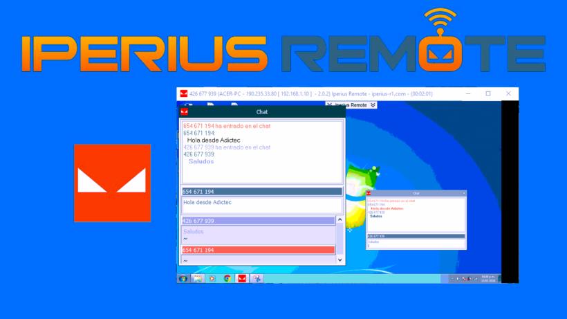Iperius Remote Software de control remoto para PC