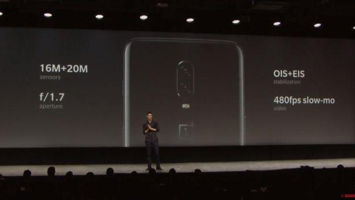 Resolución, cámara y fotografía en OnePlus 6T