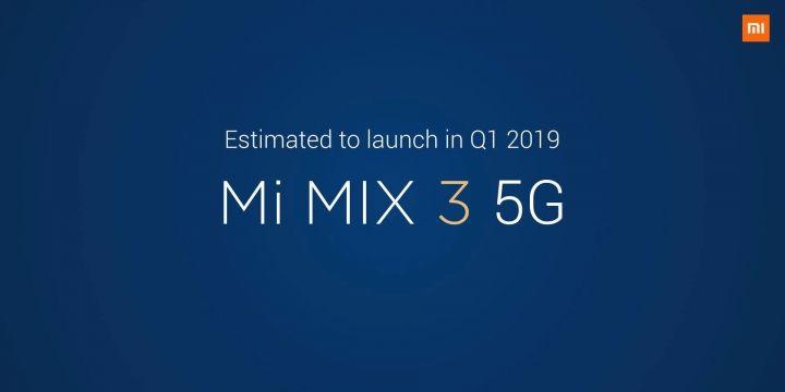Smartphone Xiaomi con 5G