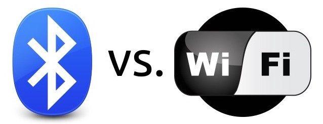 Bluetooth vs Wi-Fi