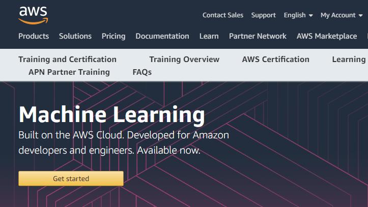 Cursos de aprendizaje automático gratis de Amazon