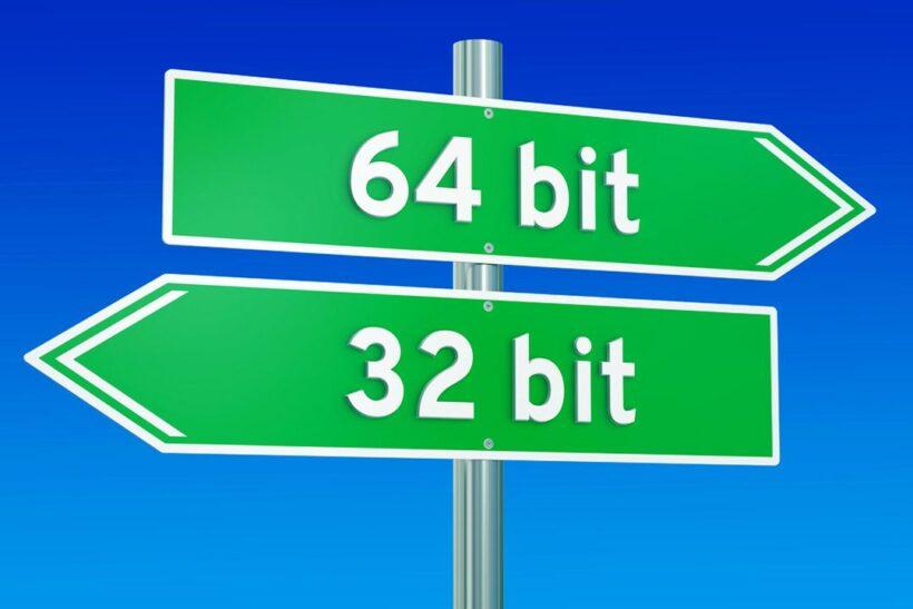 Diferencia entre Windows de 32 y 64 bits