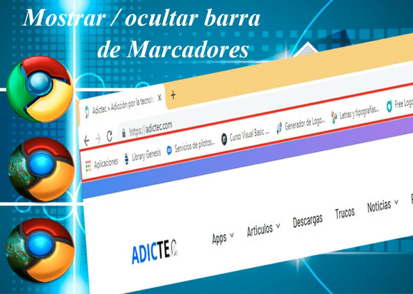 Cómo mostrar u ocultar la barra de marcadores de Google Chrome