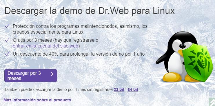 Dr.Web para Linux
