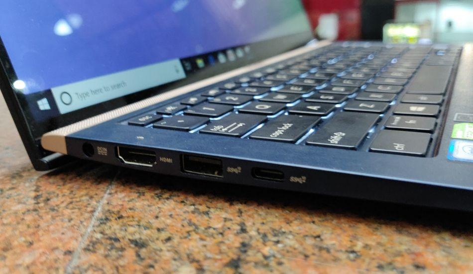 Puerto USB físico dañado