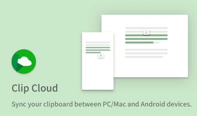 Clip Cloud copiar texto entre PC y Android