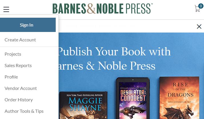 Escribir y publicar ebook con NOOK Press
