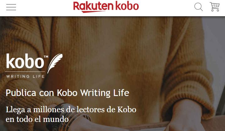 Publicar y vender libros electrónicos con Kobo Writing Life