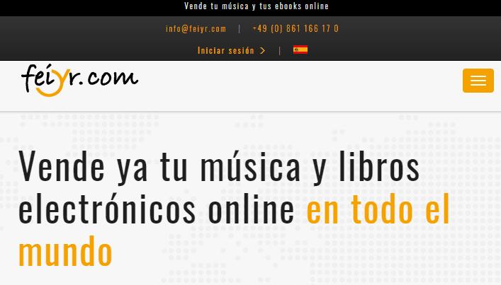 Publicar y vender música y ebooks online