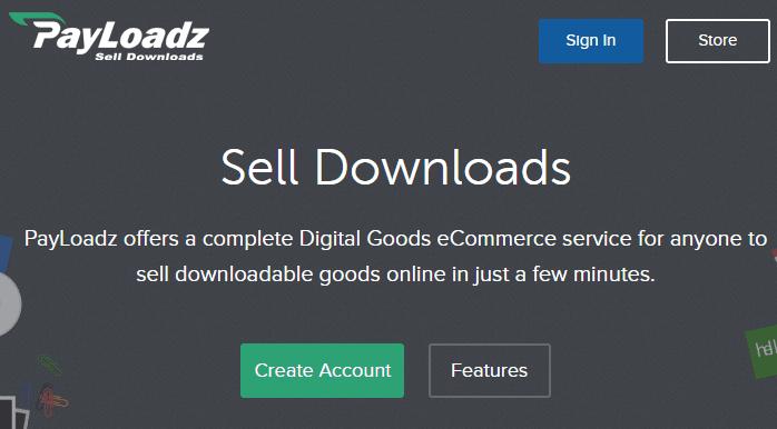 Vender libros electrónicos con PayLoadz