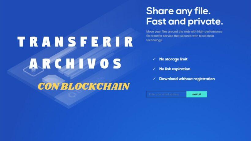 BlackHole compartir archivos vía blockchain
