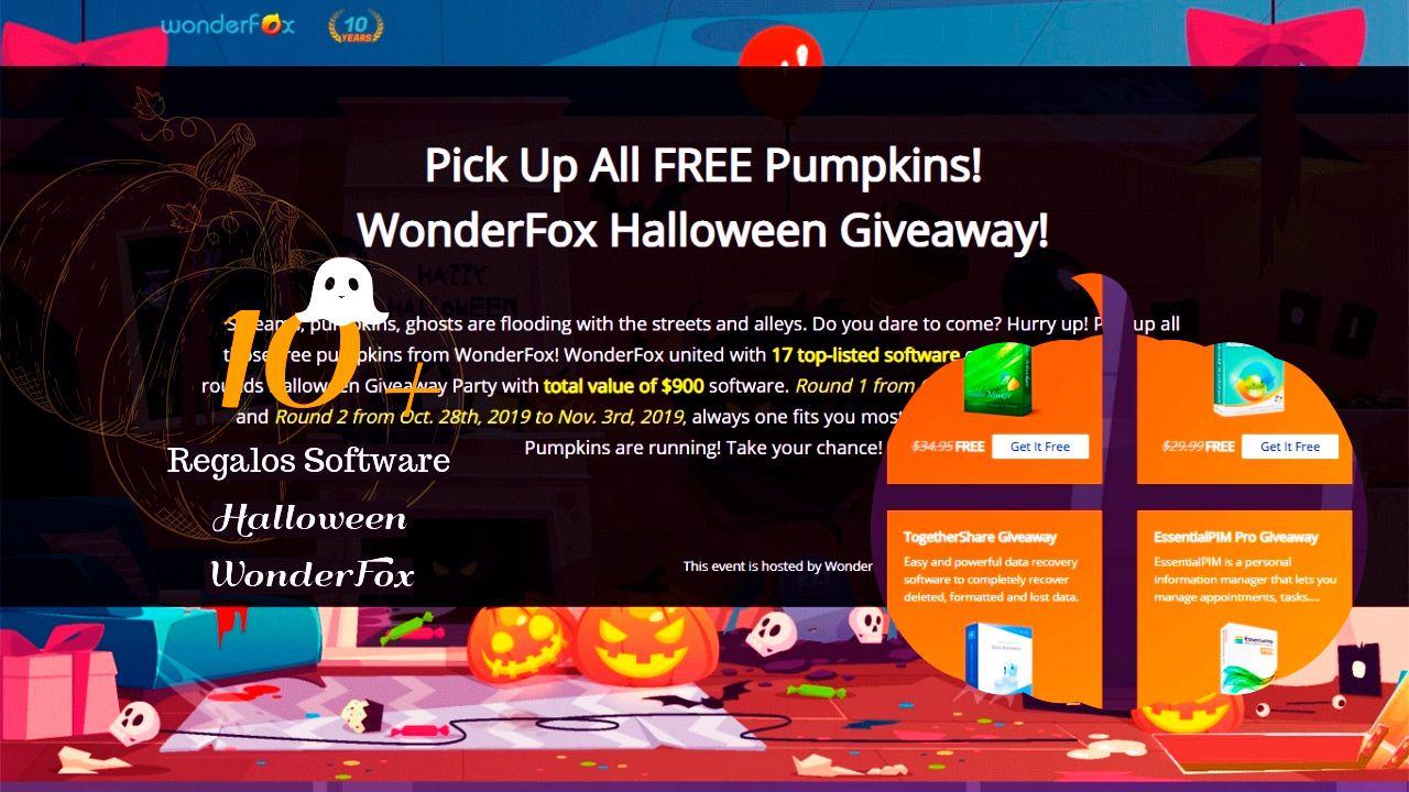 WonderFox Halloween 2019 Giveaway Licencias gratis