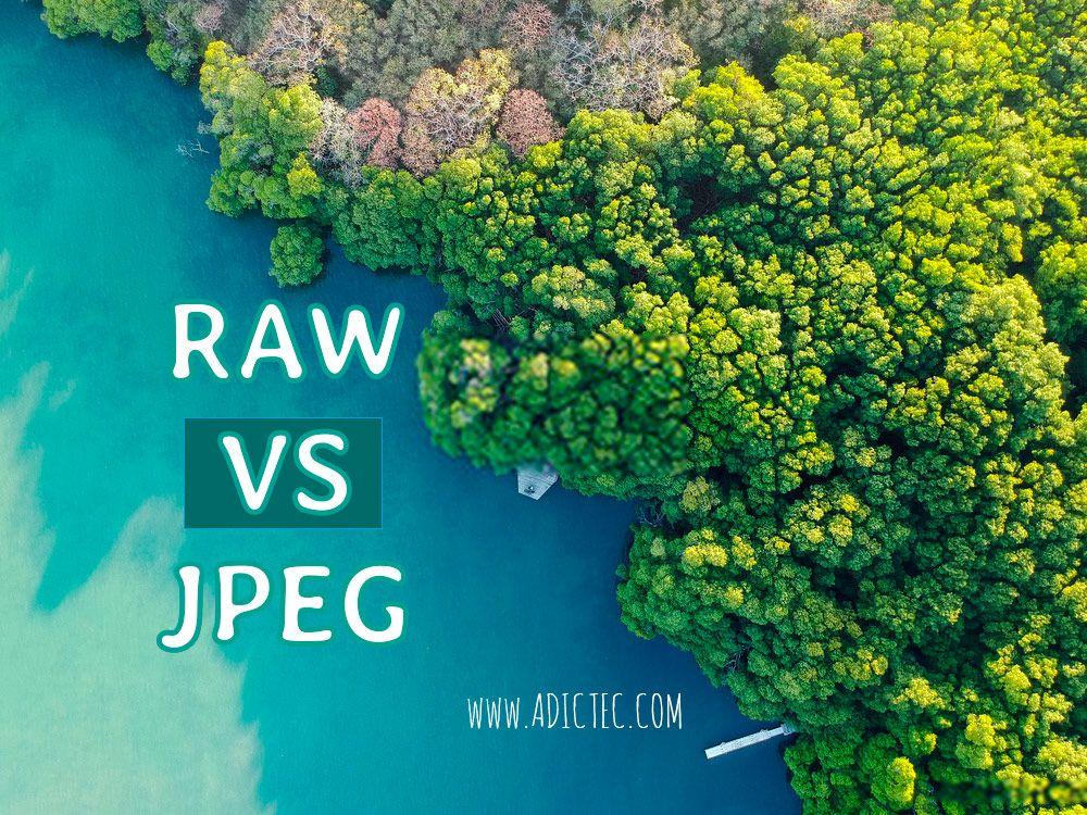 RAW vs. JPEG cuál es el mejor formato