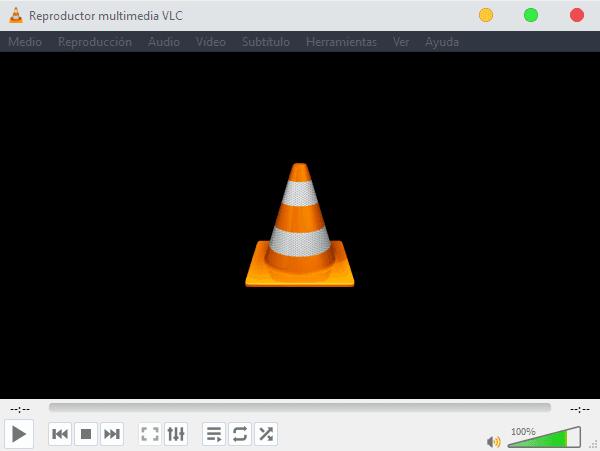 Reproductor VLC en Windows