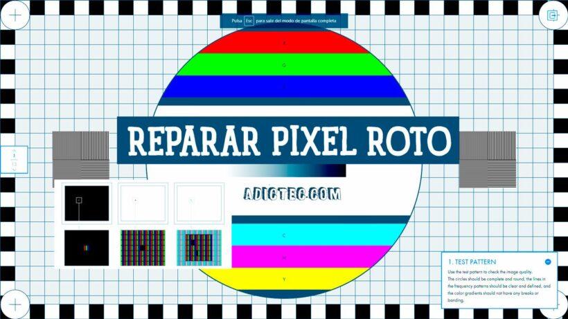 Cómo arreglar píxel muerto