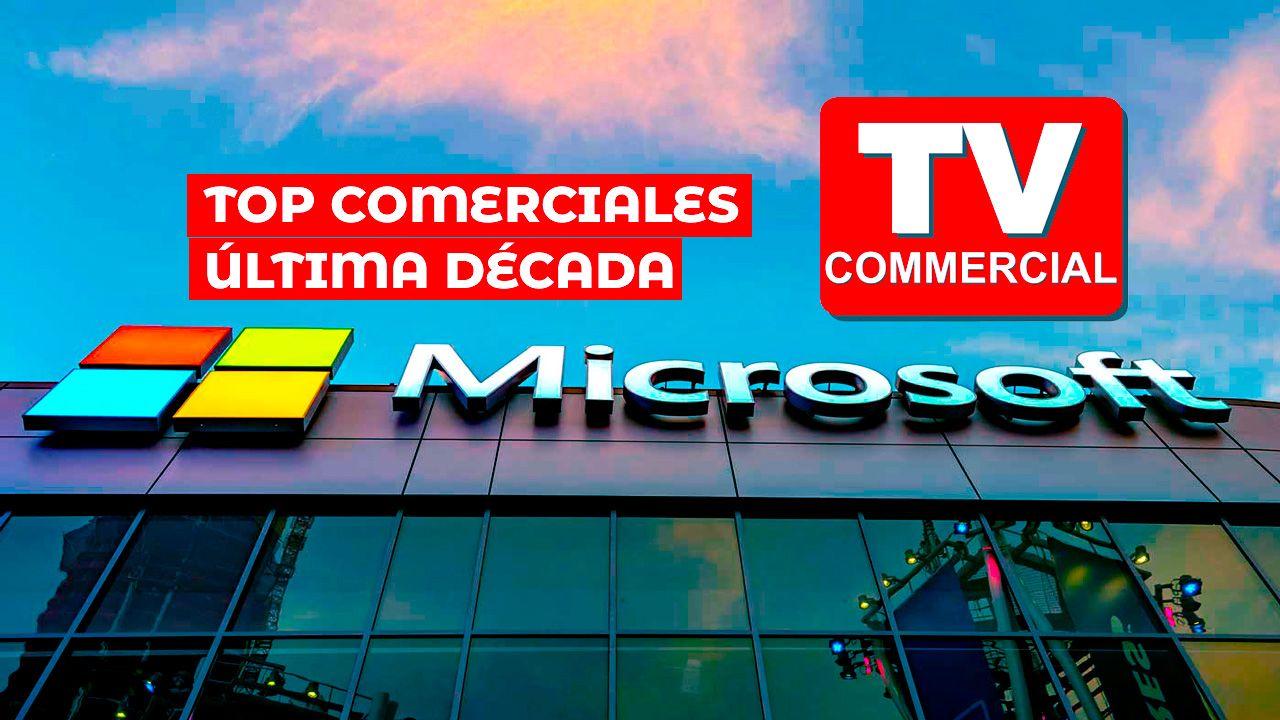 Comerciales de Microsoft última década