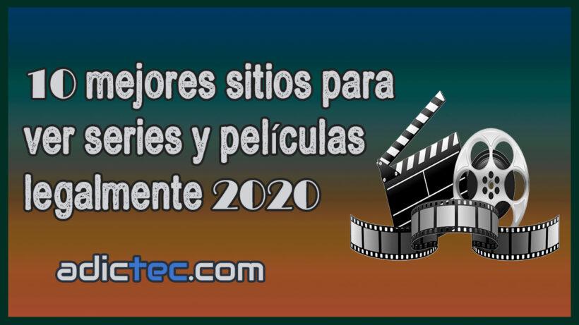 10 sitios para ver series y películas legalmente 2020