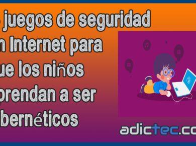 6 Juegos cibernéticos para niños