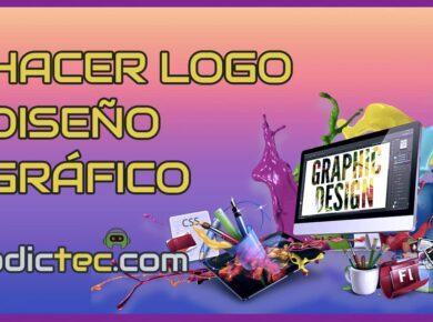 Cómo hacer logo con aplicación diseño gráfico