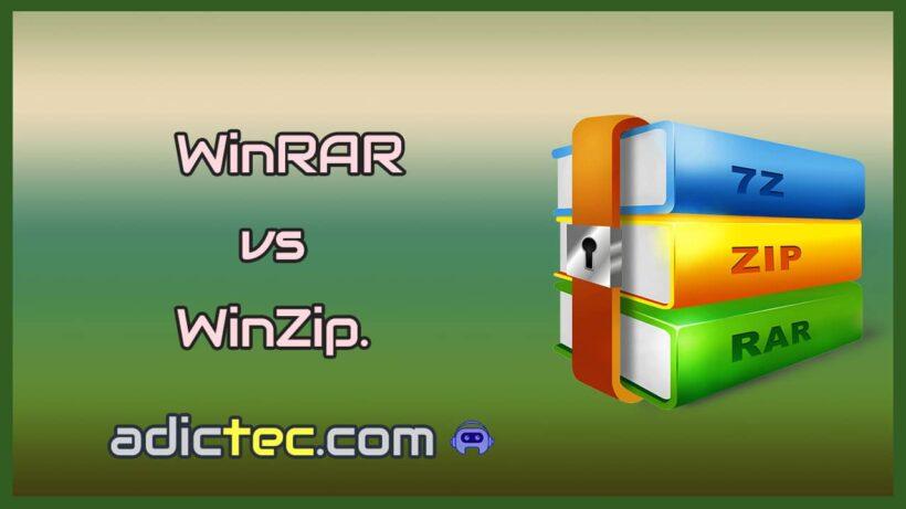 WinRAR vs WinZIP